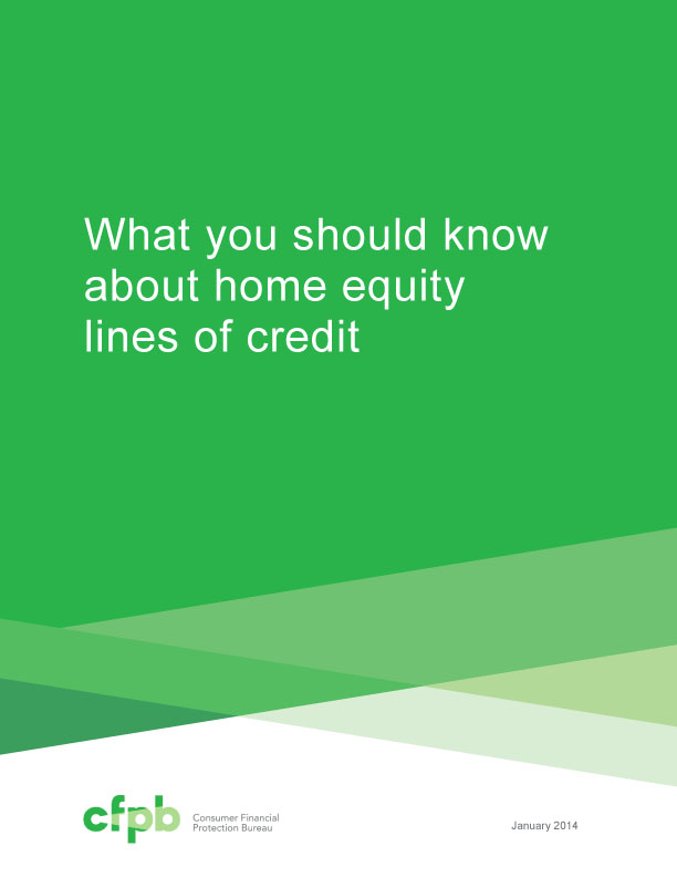 Home Equity Lines of Credit Book