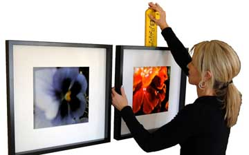 How High To Hang Art The Yvette Clermont Team