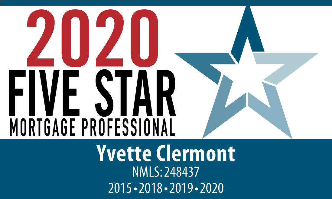 Yvette Clermont, 2015 Fiver Star Mortgage Professional SM